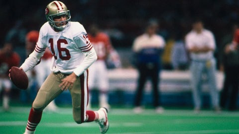 Joe Montana and the 49ers
