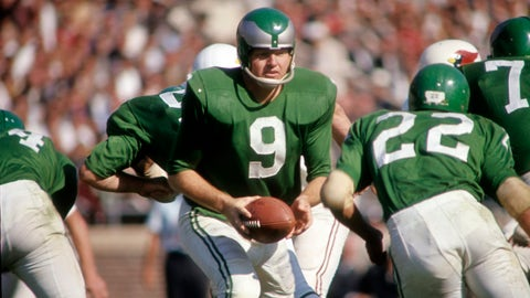 Sonny Jurgensen and the Eagles