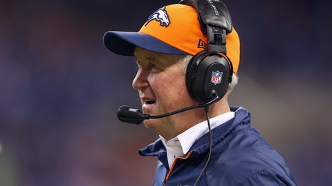 Broncos HC John Fox missed four games after undergoing heart surgery (November 2013)