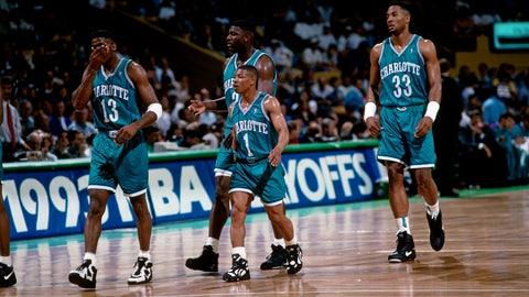 Charlotte Hornets: 1989-96 road