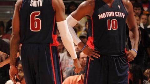 Detroit Pistons: 2014-present alternate