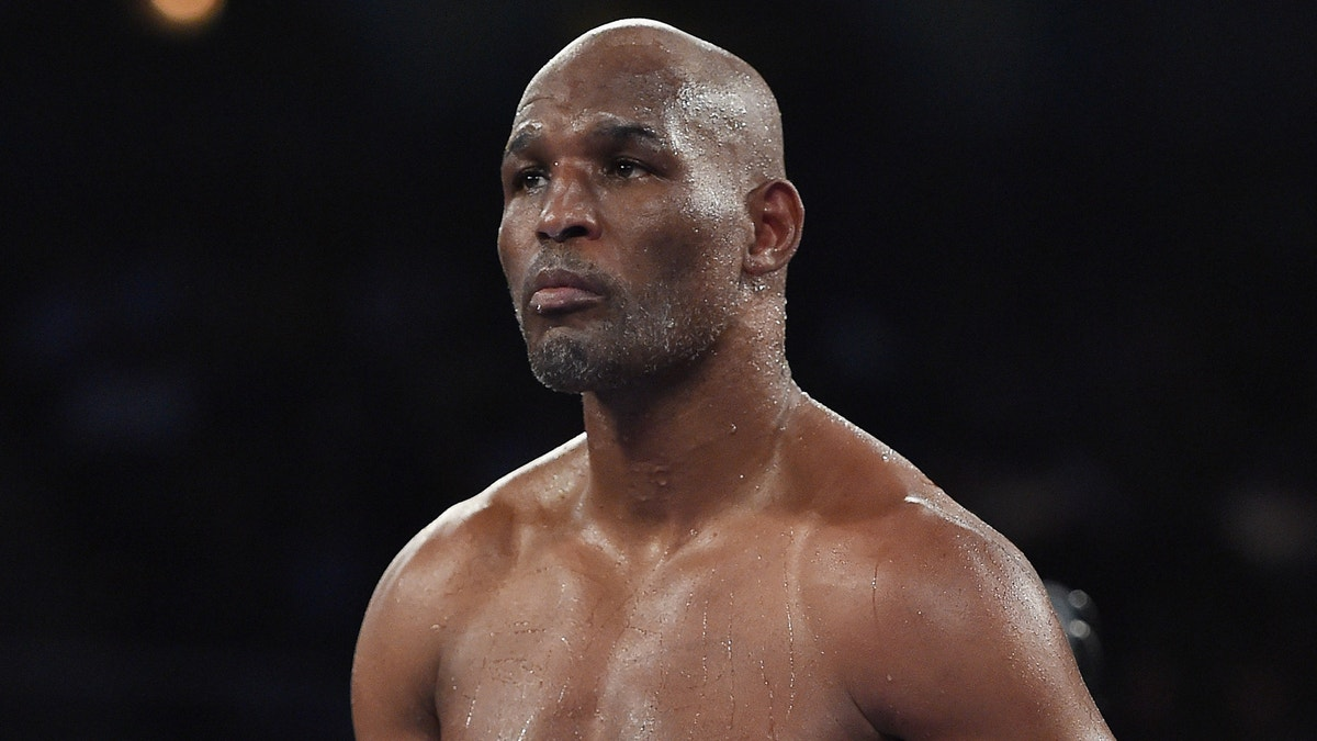 Bernard Hopkins Tko D After Being Knocked Out Of The Ring
