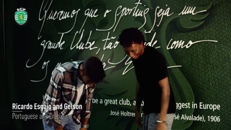 Laugh with Sporting CP as they attempt holiday greetings in each other's languages