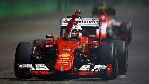 2015 Singapore GP - Sebastian Vettel