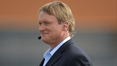 Dayton: Jon Gruden (Super Bowl-winning coach, TV personality)