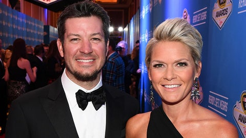 Martin Truex Jr. and Sherry Pollex
