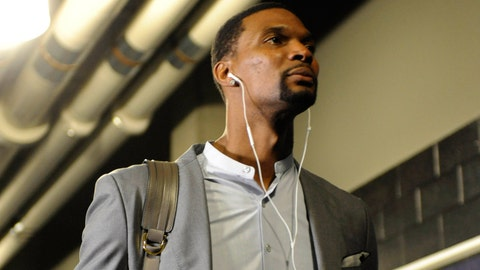 3. Chris Bosh diagnosed with blood clots again