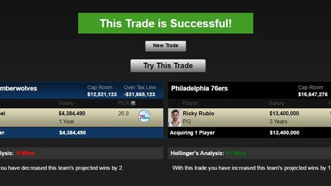 Minnesota Timberwolves trade Rubio for a KAT complement