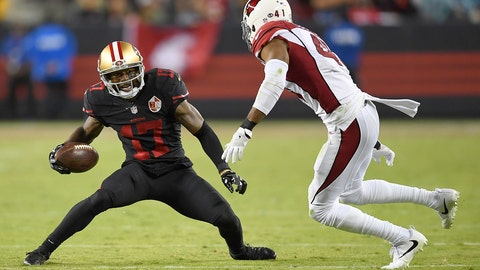 November 5: Arizona Cardinals at San Francisco 49ers, 4:05 p.m. ET
