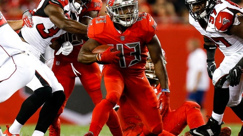 December 18: Atlanta Falcons at Tampa Bay Buccaneers, 8:30 p.m. ET