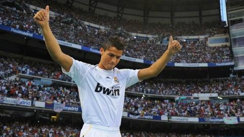 Cristiano Ronaldo – €94 million