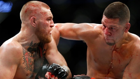 Conor McGregor: 'I look forward to the trilogy fight with Nate Diaz'