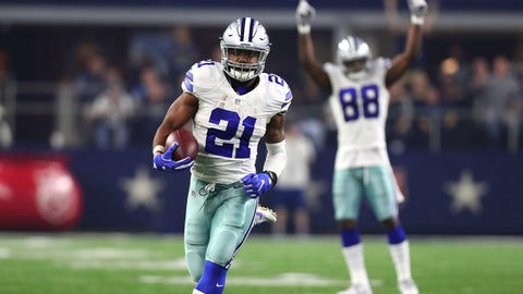 Running back: Ezekiel Elliott, Dallas Cowboys