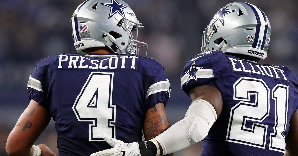 Ezekiel Elliott Got Himself And Dak Prescott Mind Blowing