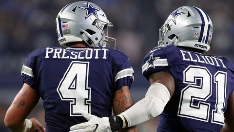 Dallas Cowboys: +425 (17/4)