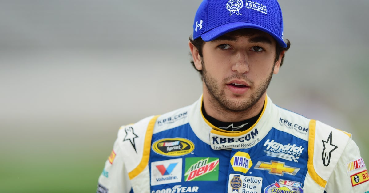 Chase Elliott Happy To Have Hooters On Board Stares Down