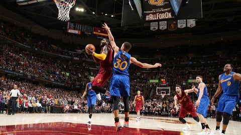 Christmas Day 2016: Cavaliers 109, Warriors 108