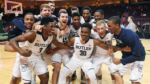 Butler Bulldogs (16-3, 5-2 Big East)