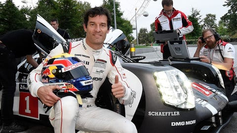 8. Mark Webber retires
