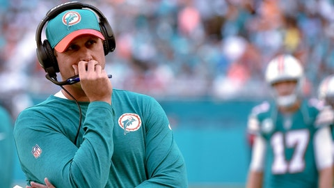 18. Miami Dolphins hire Adam Gase as coach