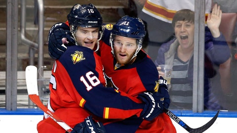 14. Florida Panthers win second division title in team history