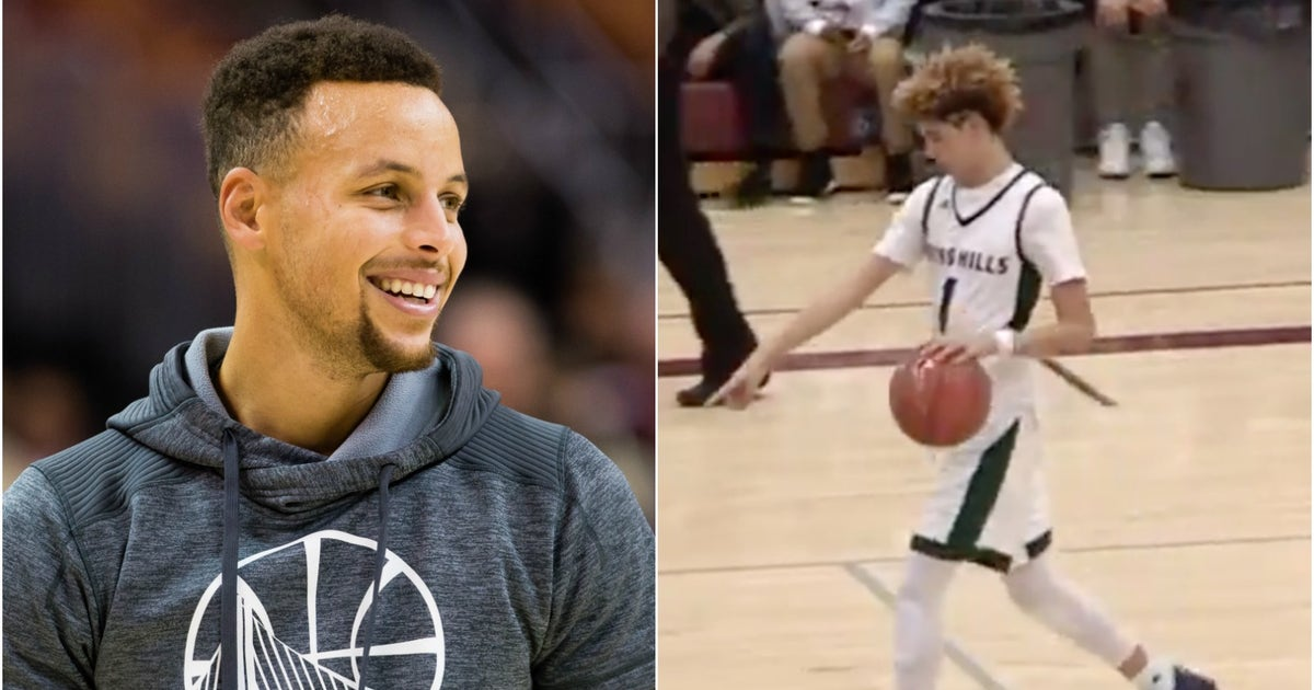 Steph curry praises high schooler 39 s half court 39 babe ruth for What s in a melon ball drink