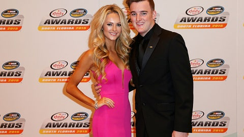 Ty Dillon and wife Haley Carey