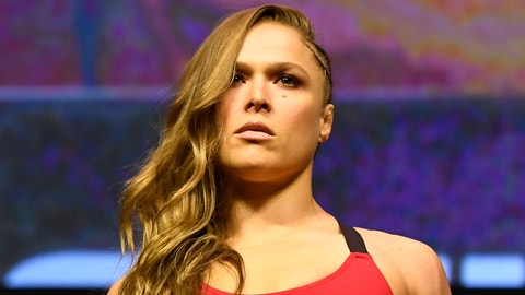 Ronda Rousey working with new coach
