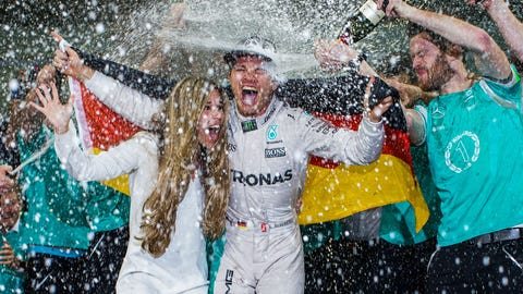 10. Rosberg wins the championship