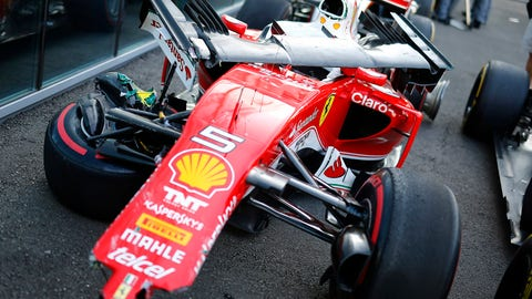 2. Sebastian Vettel's bad luck