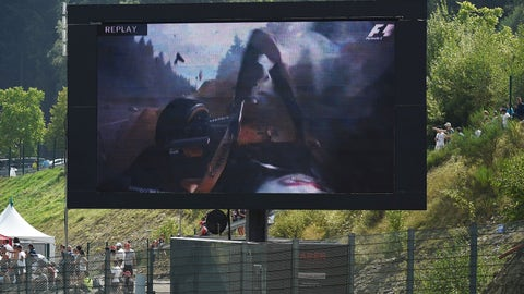 6. Magnussen woes help Hamilton in Spa