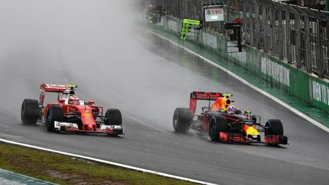 8. Max Verstappen's stellar drive