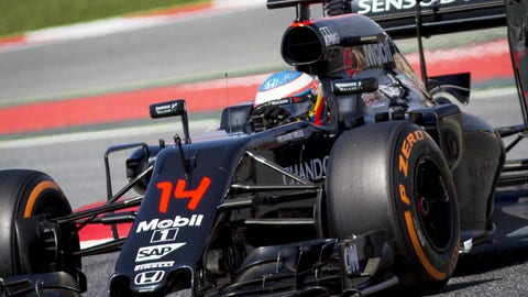 6. Could McLaren-Honda become a solid midfield team?