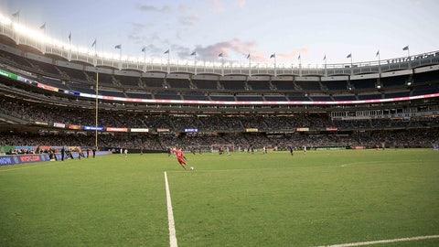 March 12 -- New York City FC (Yankee Stadium)