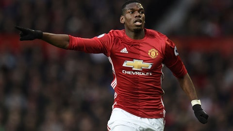 Manchester United — Paul Pogba