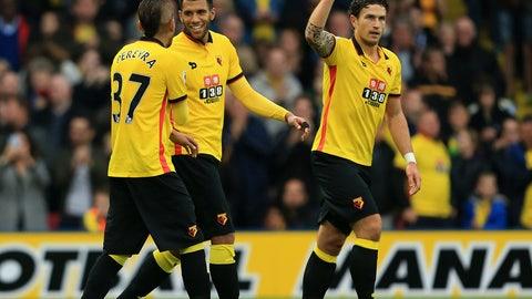 Saturday: Watford vs. Everton