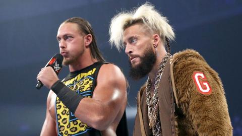 Kickoff show: Big Cass vs. Rusev