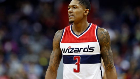 Bench: Bradley Beal, SG, Washington Wizards