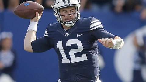 Poinsettia Bowl: BYU (+54) over Wyoming