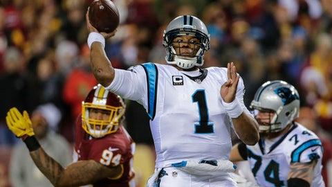 Carolina Panthers (last week: 22)