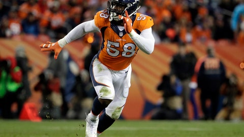 November 5: Denver Broncos at Philadelphia Eagles, 1 p.m. ET