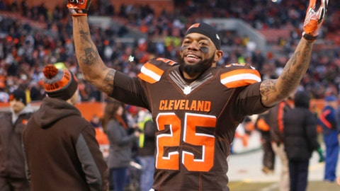 The Cleveland Browns finish above .500