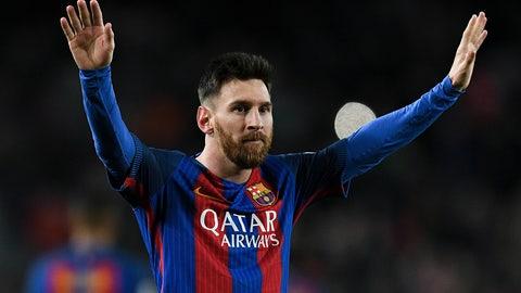 2. Lionel Messi — $81.4 million