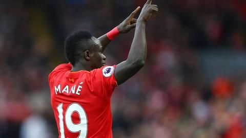 Right midfielder: Sadio Mane