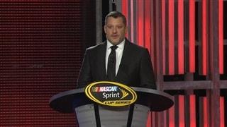 NASCAR Sprint Cup Awards: Tony Stewart Reflects on NASCAR Career - 2016