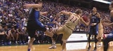 Grayson Allen receives technical, throws fit on Duke bench