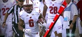 Corey Clement finds gap for 67-yard touchdown vs. Penn State