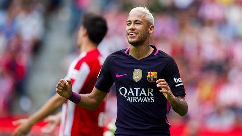 3. Neymar — $37.5 million