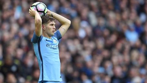 Manchester City: John Stones all alone