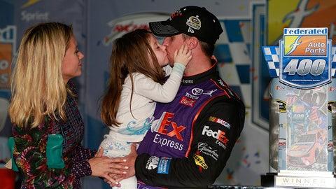 Kiss for pops